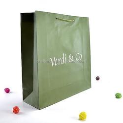 hot sell spot& uv shopping paper bags