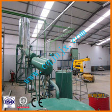 Car/truck engine oil refining production line for diesel oil !JNC china black oil recycling