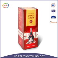 Alibaba China Packaging Bag in red Wine Box