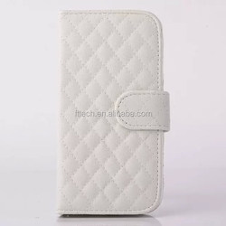 Flip PU Leather Case/wallet cell phone case For Samsung S6