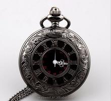 Retro gun color quartz pocket watch,watch for man and woman(SWTPR851)