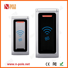 NP-006E Metal case 13.56mhz proximity rfid card reader for access control system