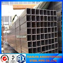 ASTM STANDARD rectangle steel for outdoor use size 30 x 70 mm/steel price per kg/steel square hollow bar