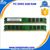 second hand computer parts best price 4gb ddr3 ram for desktop
