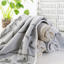 Wholesaler custom towel, 70% bamboo fiber 30% cotton hotel bath towel fabric, travel baby face towel