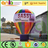 New products 2014 gaint inflatable rooftop ground balloon for event