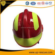 F2 Emergency Fire fighting Rescue Helmet, Safety Helmet Fire Rescue Helmet