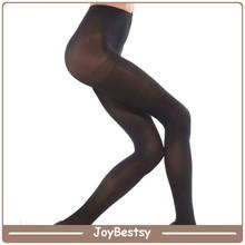 2015 caliente sexy imágenes de la mujer medias y calcetines medias color negro sin soldadura tubo de pantimedias