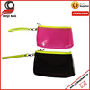 Clear PVC Cosmetic Bag Waterproof PVC Toilet Bag With Wristlet