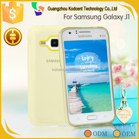 Top quality fancy cell phone soft back cover for samsung galaxy j1