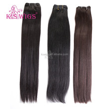 K.S WIGS hot sale highest quality 26inch dark color brazilian remi hair