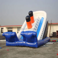 inflatable slide house , NO.2298 cheap inflatable slides for sale sea world inflatable slide for children play