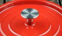 QULENO cast iron easy-clean aluminum sauce pan cast iron pot