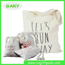 Promotional Cotton Drawstring Bag cotton tote bag