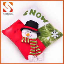 Christmas Crafts For Party snowman throw Pillow Christmas Ornament Pillow