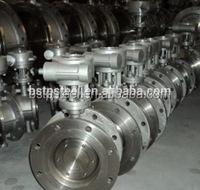 Cast steel handwheel stainless steel three eccentric Butterfly Valve ANSI DIN CF8 304