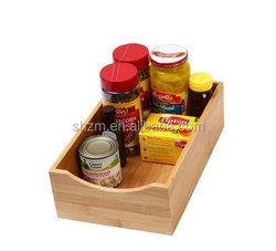 Eco-friendly Bamboo Drawer Shelf And Drawer Organizer Simple Design Bamboo Lingerie Box Shirt/Sweater Box Desk Organizer Hot