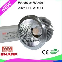 Made with driver brand mean well AR111 30W LED SR111