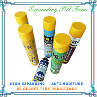 Sales 750ml pu foam fire resistant polyurethane foam sealant