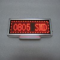Leeman 12v led car display board p10 white led display module led sign modules 12v