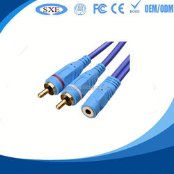 Hot sale 20m vga plus audio cable hd15 plus 3.5mm jack plug with high quality