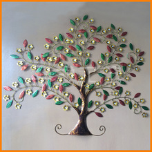 European creative fashion mix series decorative wall decoration metal crafts exquisite iron wall tree wholesale