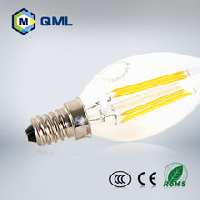 Best price e14 2w filament bulb led candle lights for house using with high brightness