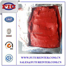 CTomato paste is a thick paste that is made by cooking tomatoes for several hours to reduce moisture