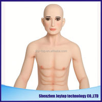 Lifelike real size full silicone male sex doll for women or gay with anus hole black male sex doll for woman 145cm male doll