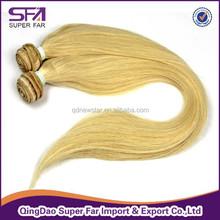 6A grade virgin human hair extension for white women