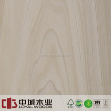 American Plain sliced booking match Yellow poplar plywood for home furniture