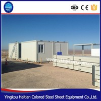 Convenient loading container house and mobile container house