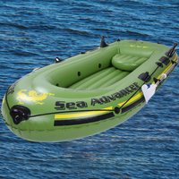 Wholesale Aluminun paddles Inflatable three person boat