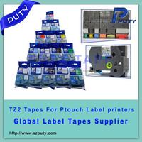 12mm tz tape TZ431 TZ2-431 compatible tape for P touch