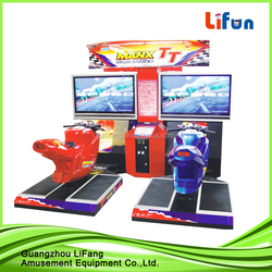 Children arcade machine motorcycle game machine for kids racing games for sale