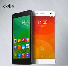 "Original Xiaomi Mi4 4G LTE Qualcomm Snapdragon 805 Quad Core Cell Phones FHD 5.0"" 3G RAM 16G ROM Android 4.4 Mobile Phone"
