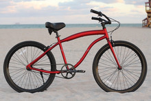 china made corporate gifts 26 Inch Mans chopper bicycle beach cruiser