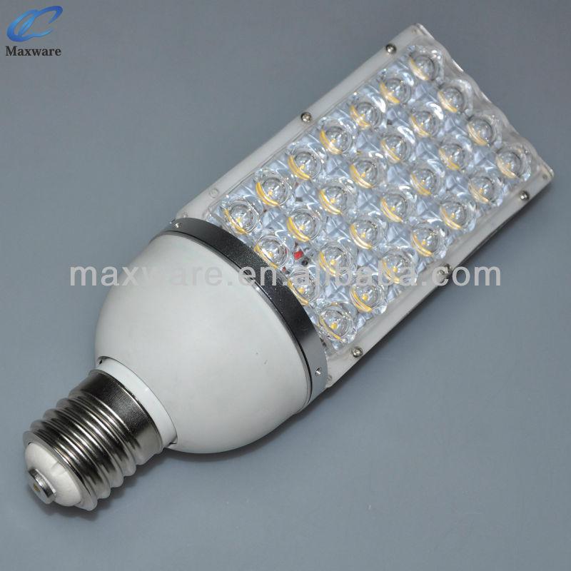 28w e40 lampe ampoule ext rieur led route lampadaire for Candelabre exterieur