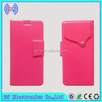 Leather Case For HTC Desire HD A9191 Flip Universal Mobile Phone Covers