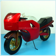 classical motorcycle table decoration