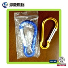 anodized aluminum carabiner climbing in various shapes