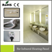 decorative 580w infrared carbon electric heater with heat-resistant mirrorr carbon heater