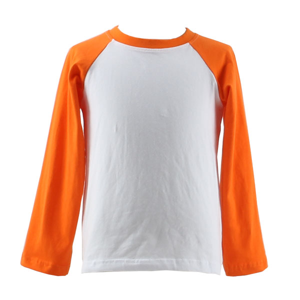 Wholesale china custom raglan 3 4 baseball t shirts long for Custom raglan baseball shirt