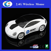 USB Wireless Optical Mouse 2.4GHz Car Mice for Laptop PC