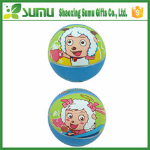 lovely printed inflatable beach ball girls