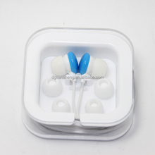 Promotion mp3 plastic headphones in ear with cases
