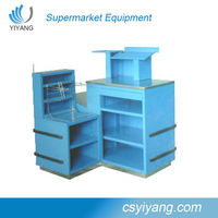 Hot selling Custom Used Mobile Cash Counter Tops Table Design Manufacturers