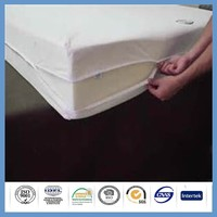waterproof bed bug proof hand knitted bed cover