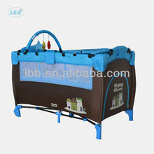 Foldable Baby Travel Cot with Frame Protector