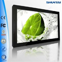 LED 32 inch Flat Screen TV With Advertising Function different from home TV